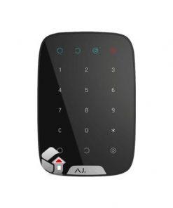 Betjeningspanel, touch panel med kode/overfaldskode,