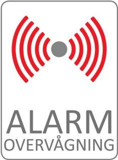 Alarm Skilt