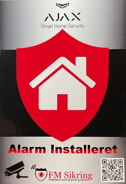 FM Sikring - Alarm Skilte
